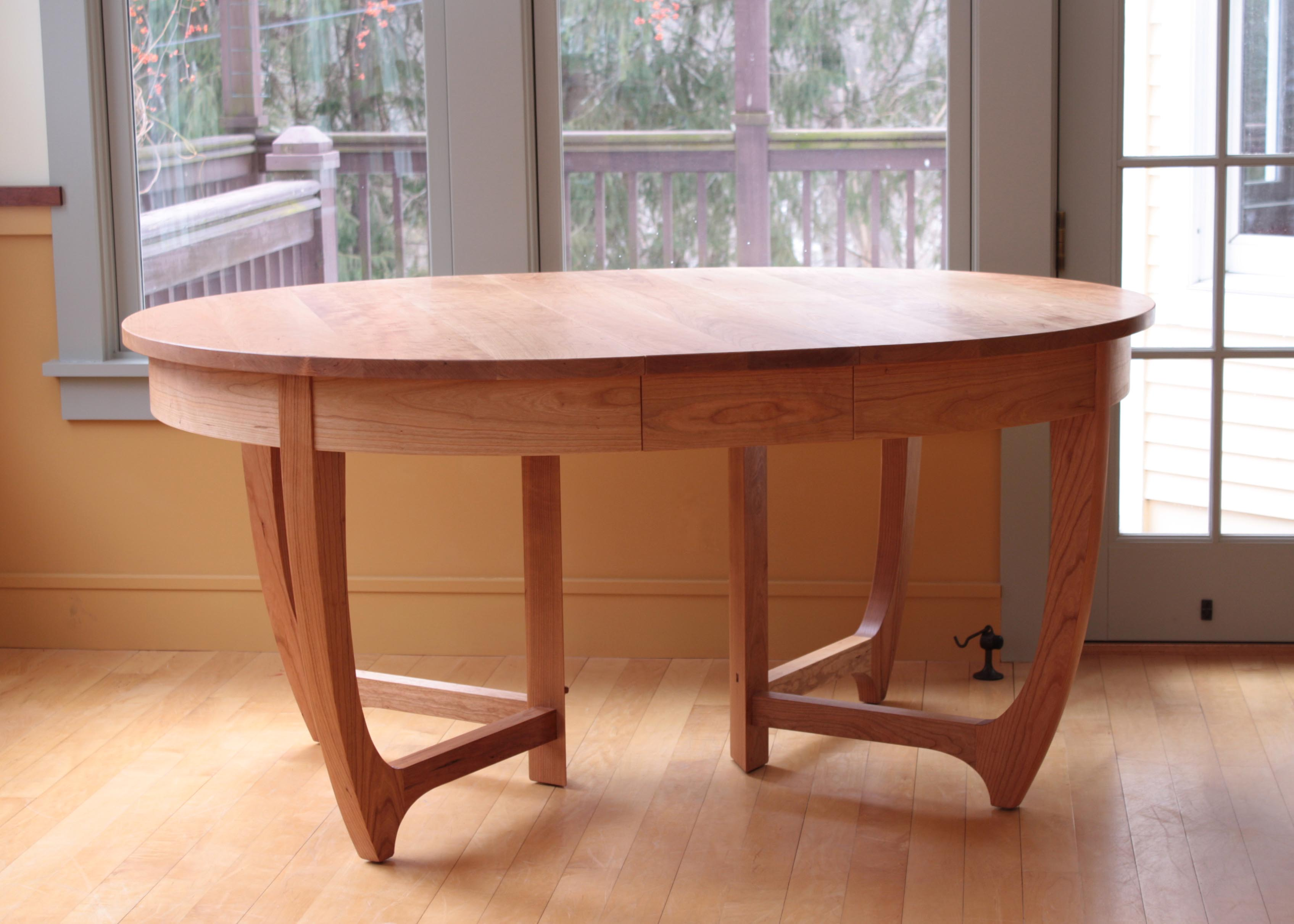 Large Tables Brian Clark Woodworks : jarvis dining table with leaf copy from brianclarkwoodworks.com size 3391 x 2422 jpeg 364kB