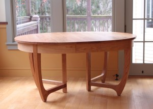 Jarvis Dining Table with one leaf